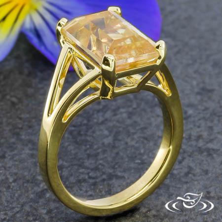 Golden Sunstone Ring