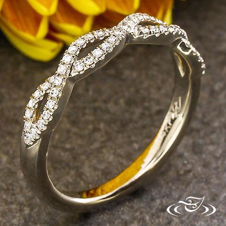 DIAMOND WEAVE BAND
