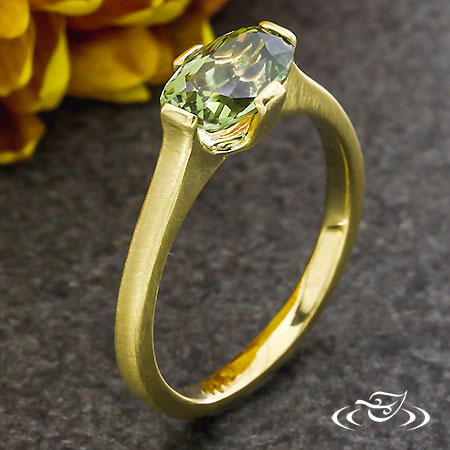 Contempary Sapphire Ring