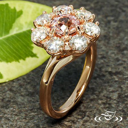 Edwardian Cluster Diamond Ring