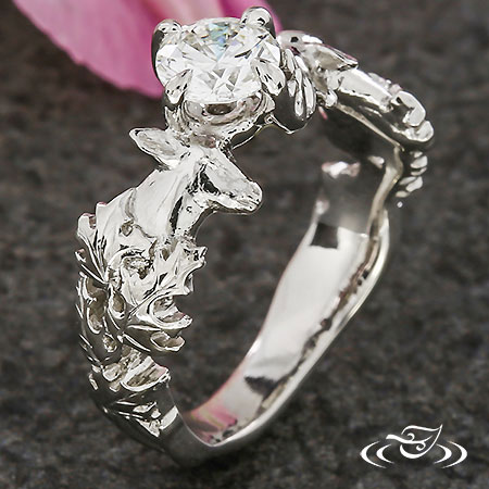 DEER &ELK ENGAGEMENT RING