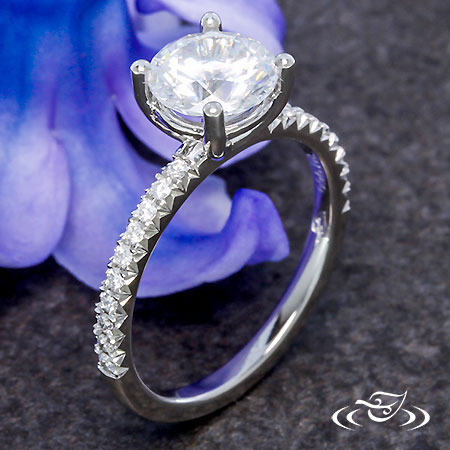 PLATINUM FRENCH SET SOLITAIRE