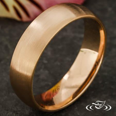 ROSE GOLD WEDDING BAND