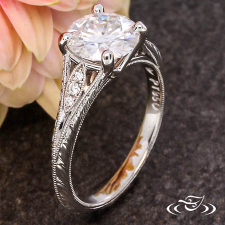 ANITQUE INSPIRED ENGAGEMENT RING