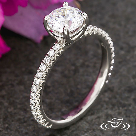 FRENCH PAVE SOLITAIRE