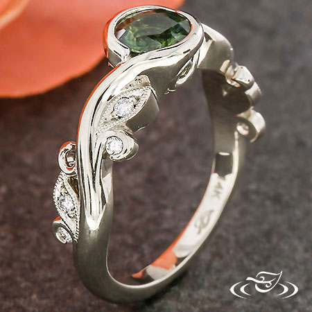 WRAP SET VINE ENGAGEMENT RING