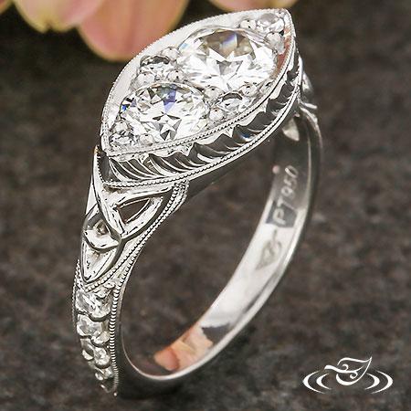 HEIRLOOM CELTIC DIAMOND RING