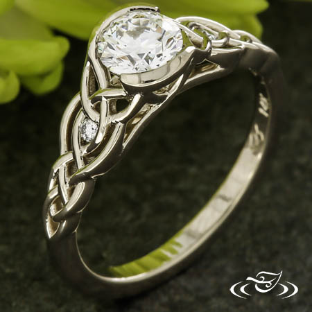 CELTIC & TRINITY KNOT ENGAGEMENT RING