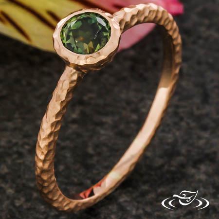 Montana Sapphire Rustic Ring