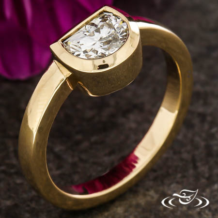 Half Moon Stackable Ring