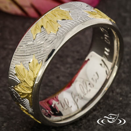 Custom Maple Leaf Band