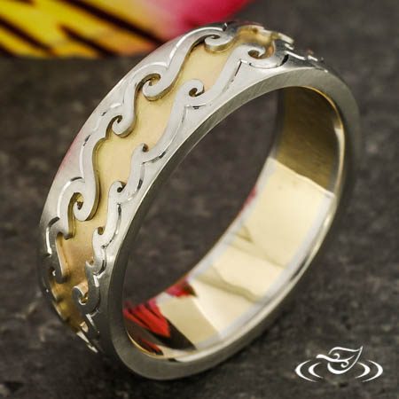Two-Tone Wave Band