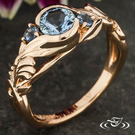 Honeysuckle Wrap Engagement Ring