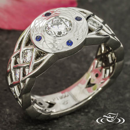 Celtic Anniversary Ring