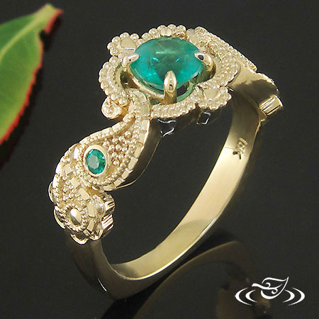 Emerald Enement Rings Design Your Own | Design Your Own Unique Custom Engagement Ring And Wedding Bands