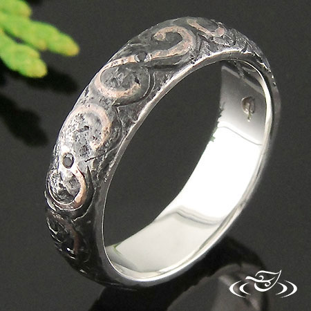 TWO TONE RING HAMMER BAND